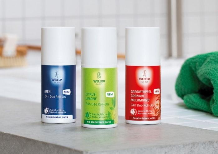 Weleda Produkte mit Schweizer Design