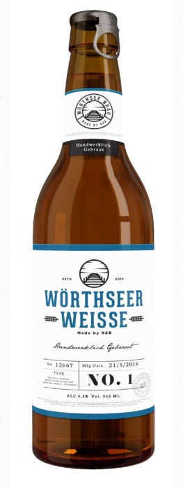 Biermarken mit moderner Präsentation: Wörthseer Weisse