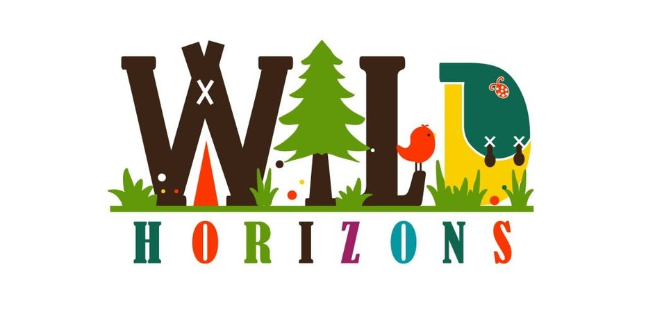 Outdoor educational logo design