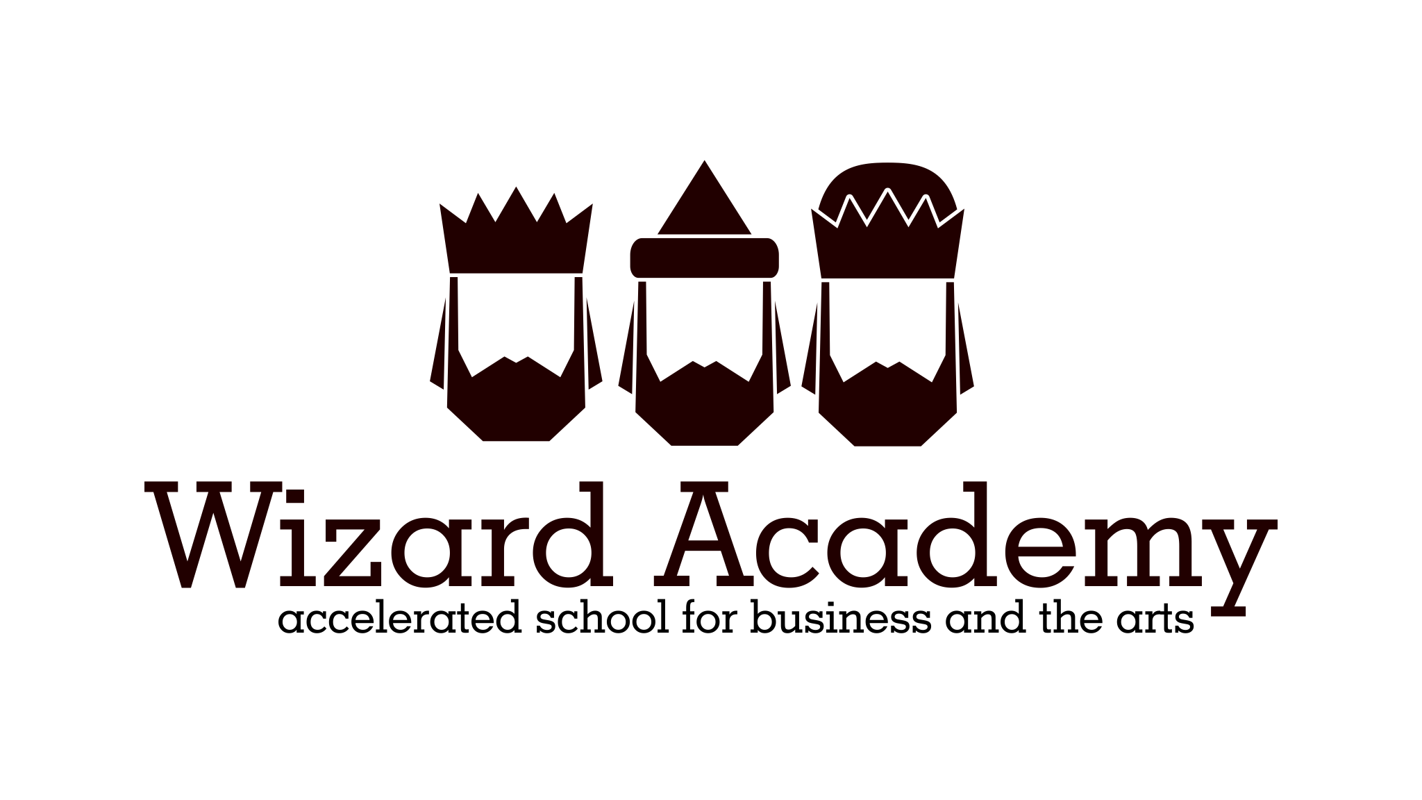 Wizard mascot logo design