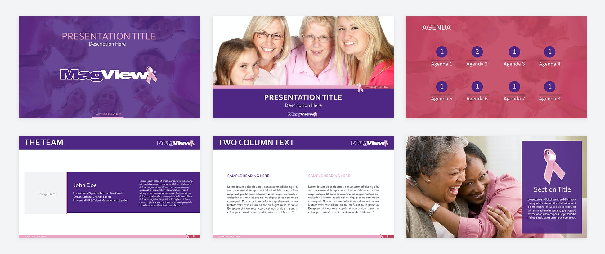 MULTI-COLORED POWERPOINT TEMPLATE