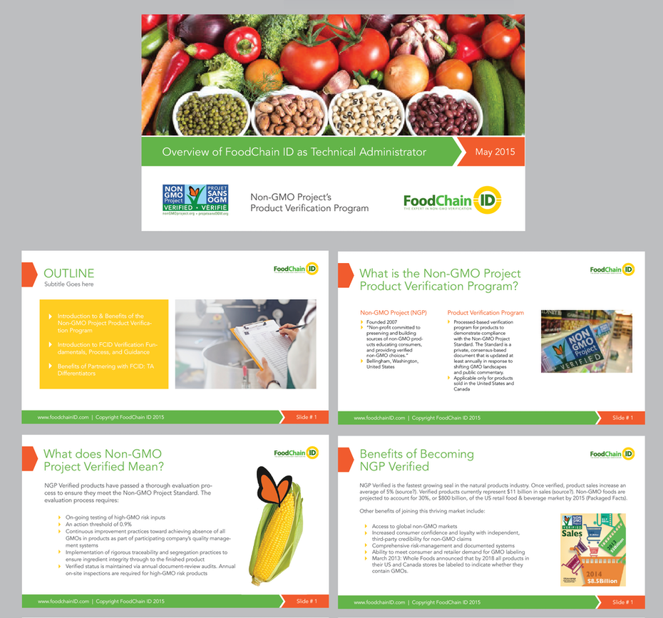 COLORFUL POWERPOINT PRESENTATION DESIGN FOR FOOD CHAIN
