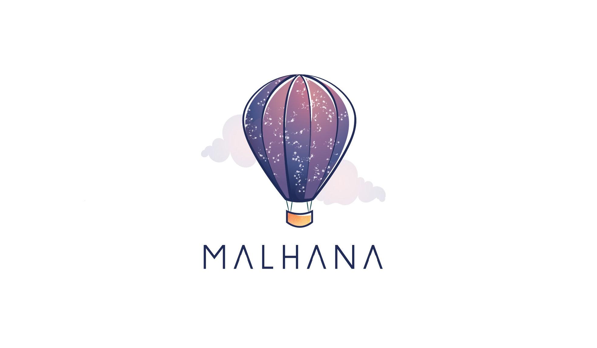 Malhana logo design