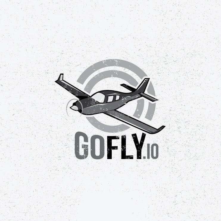 GoFly.io tech startup logo design