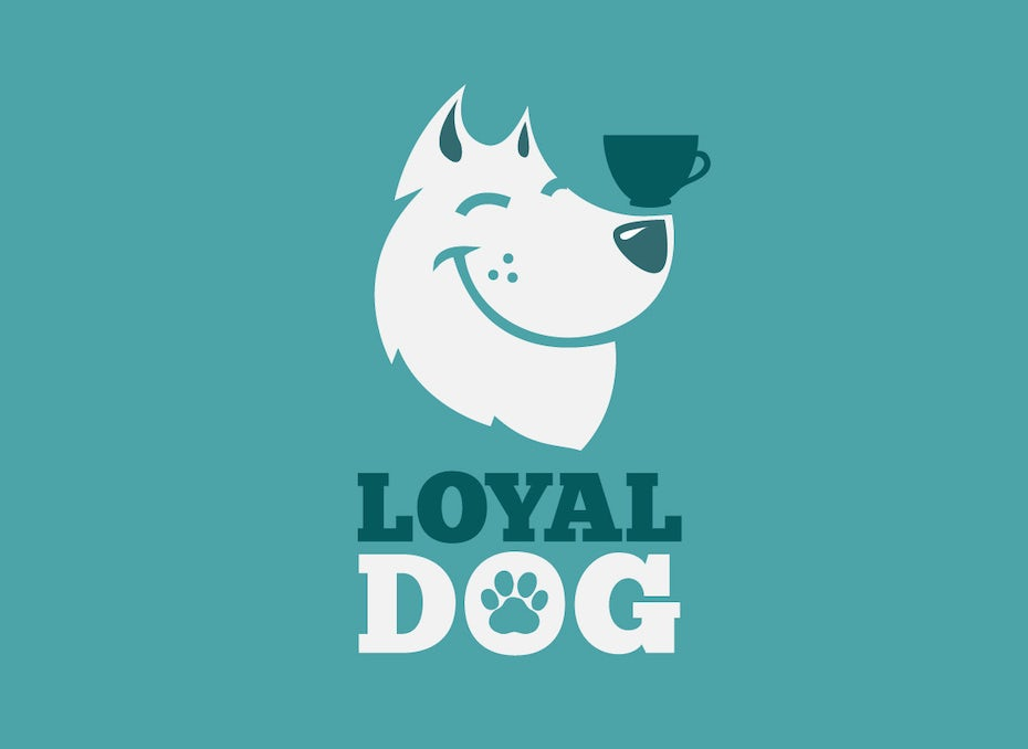 Loyal Dog startup logo design