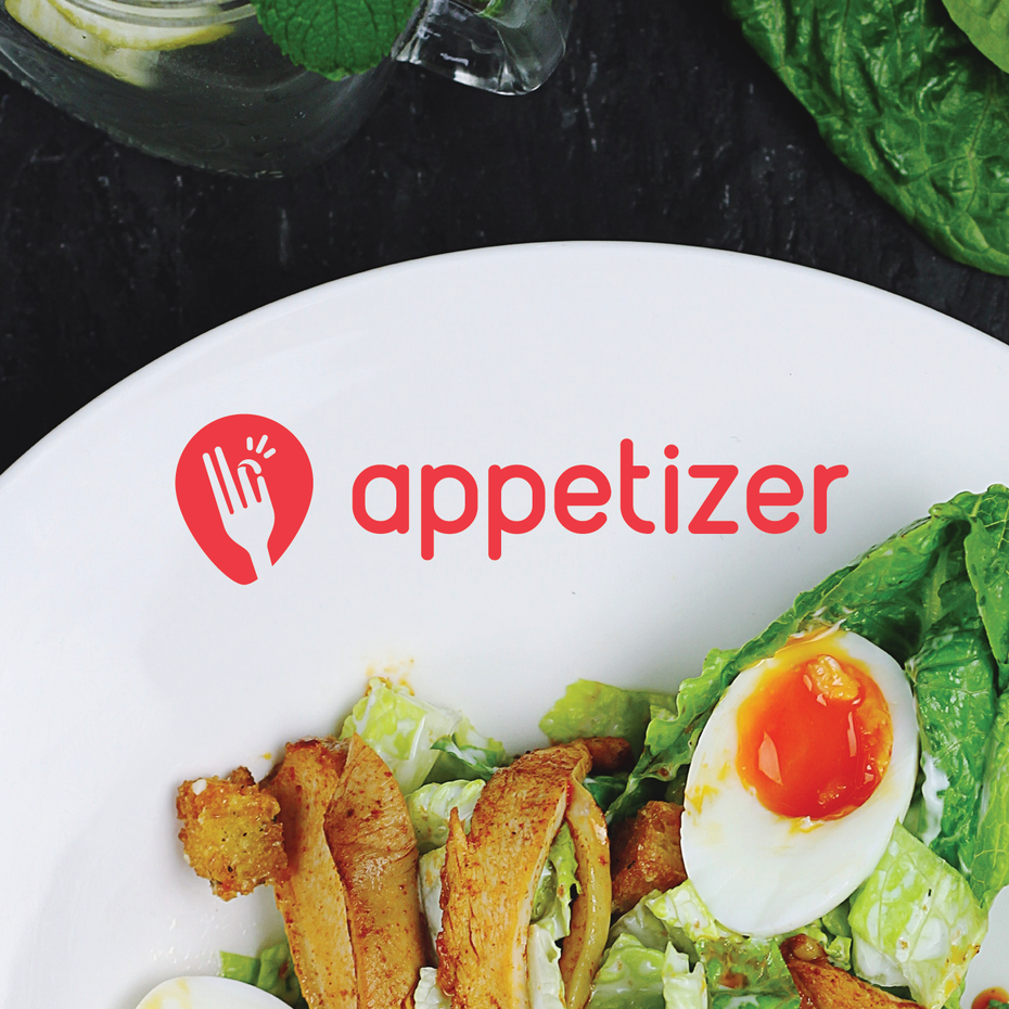 Appetizer tech logo design
