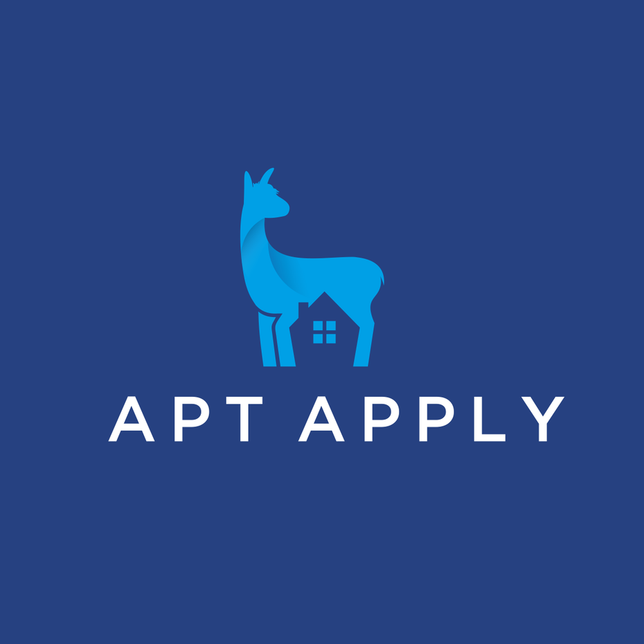 Apt Apply tech startup logo design