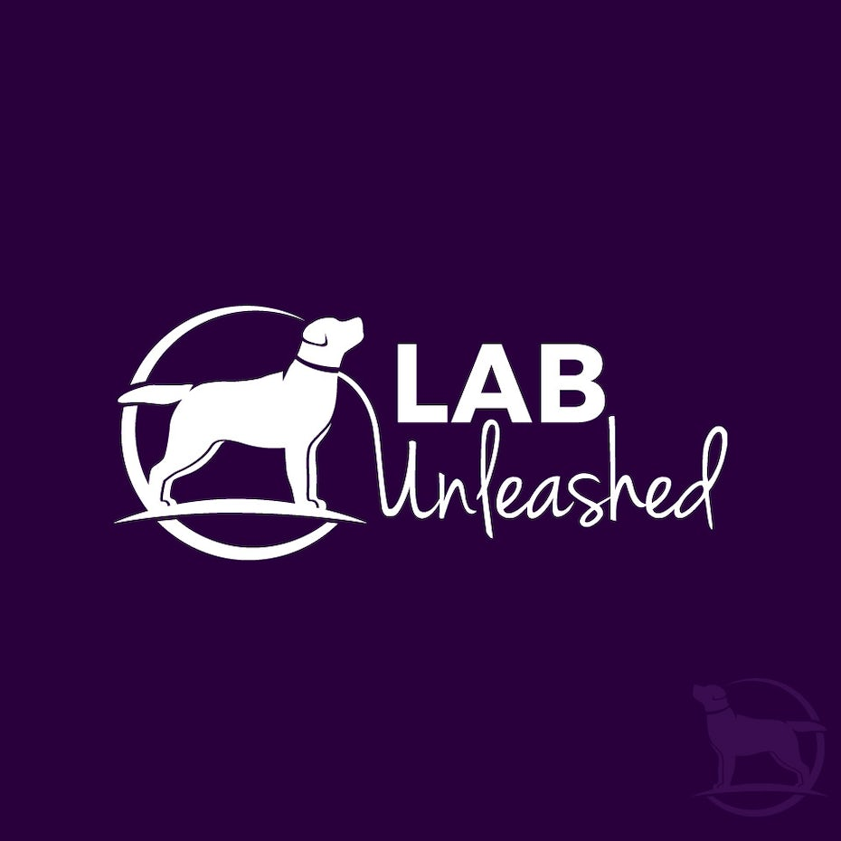 Lab Unleashed tech startup logo design