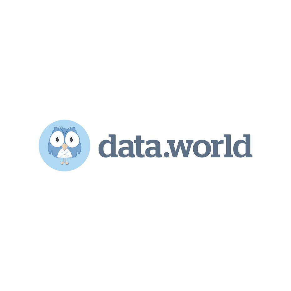 data.world tech startup logo