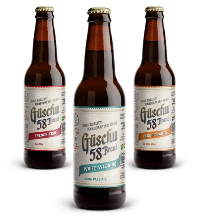 Biermarken mit nostalgischer Präsentation: Güschu 58 Braui