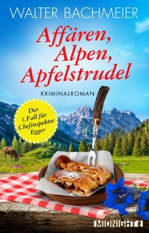 Affären Alpemn Apfelstrudel E-Book-Coverdesign
