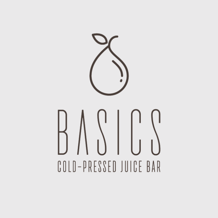 Schlichtes Logodesign für Basics