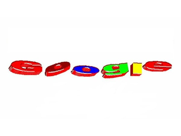 Pre-launch Google logo from 1997-1998