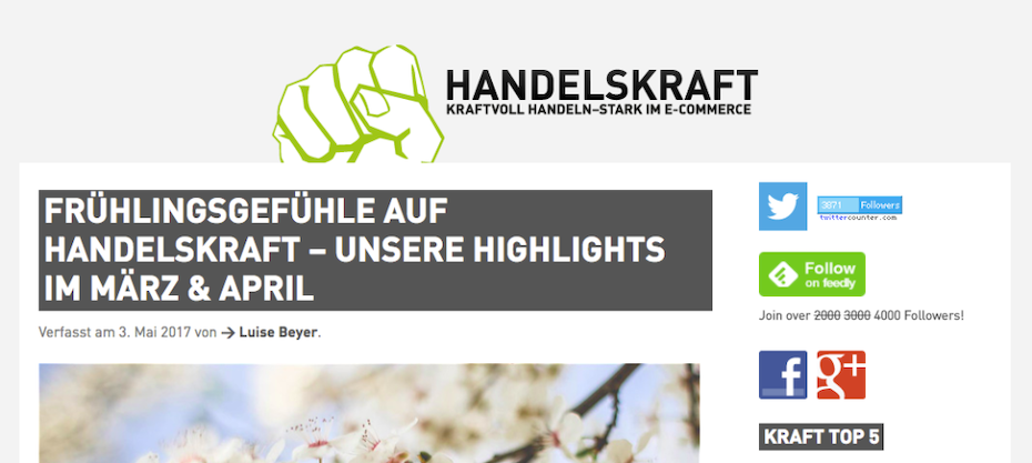 Handelskraft E-Commerce Blog