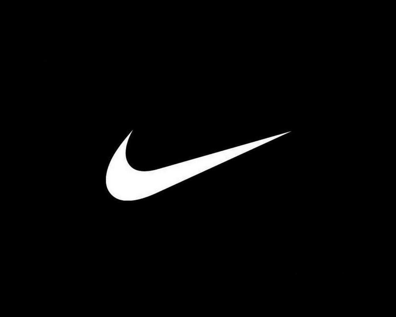 Black Nike Swoosh