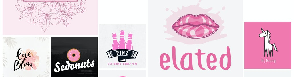 31 pink logos that flush with possibility