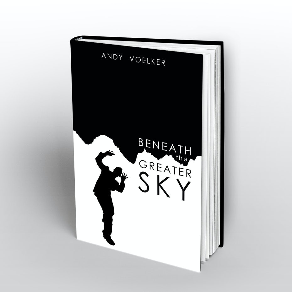 Black and white book cover