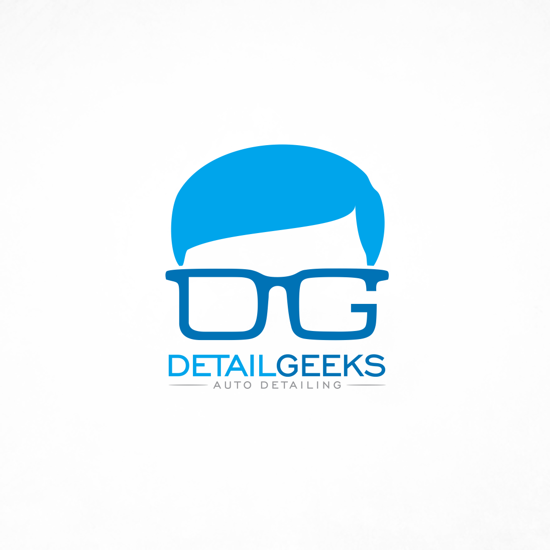 Glasses logo design