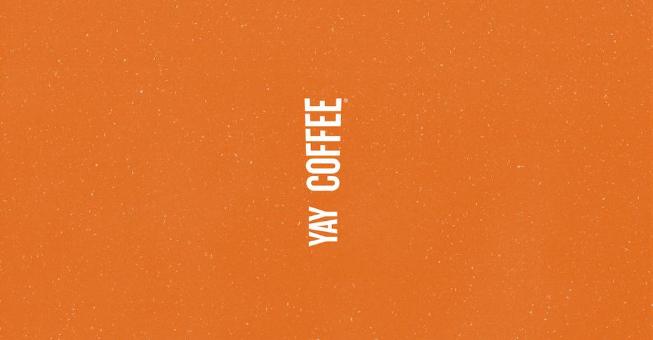 Yay coffee logo design