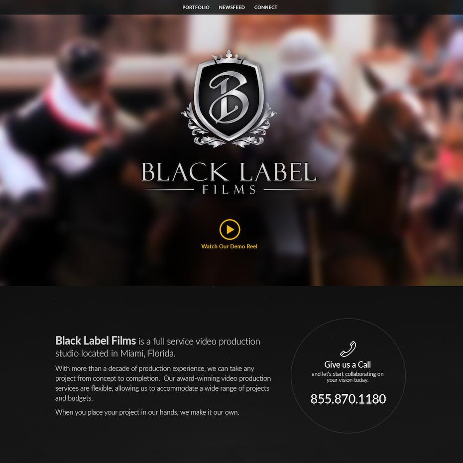 Predominantly black website