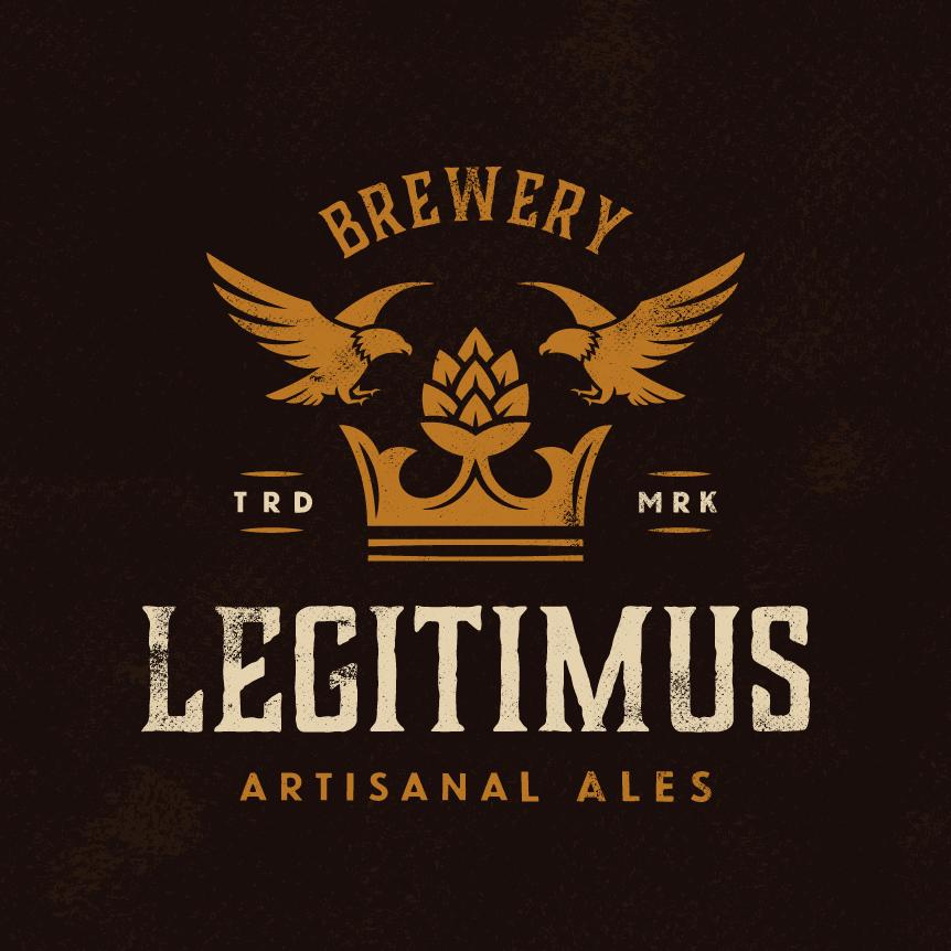 Dark brown ale logo