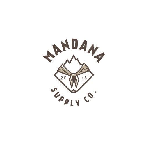 Old-school bandana logo