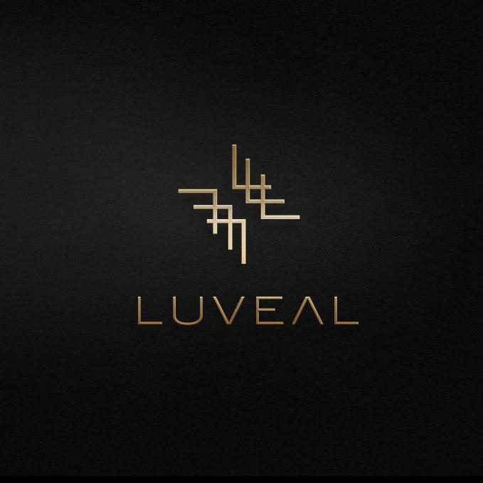 Black and gold fashion logo