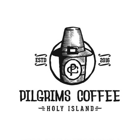 Pilgrims Coffee logo design