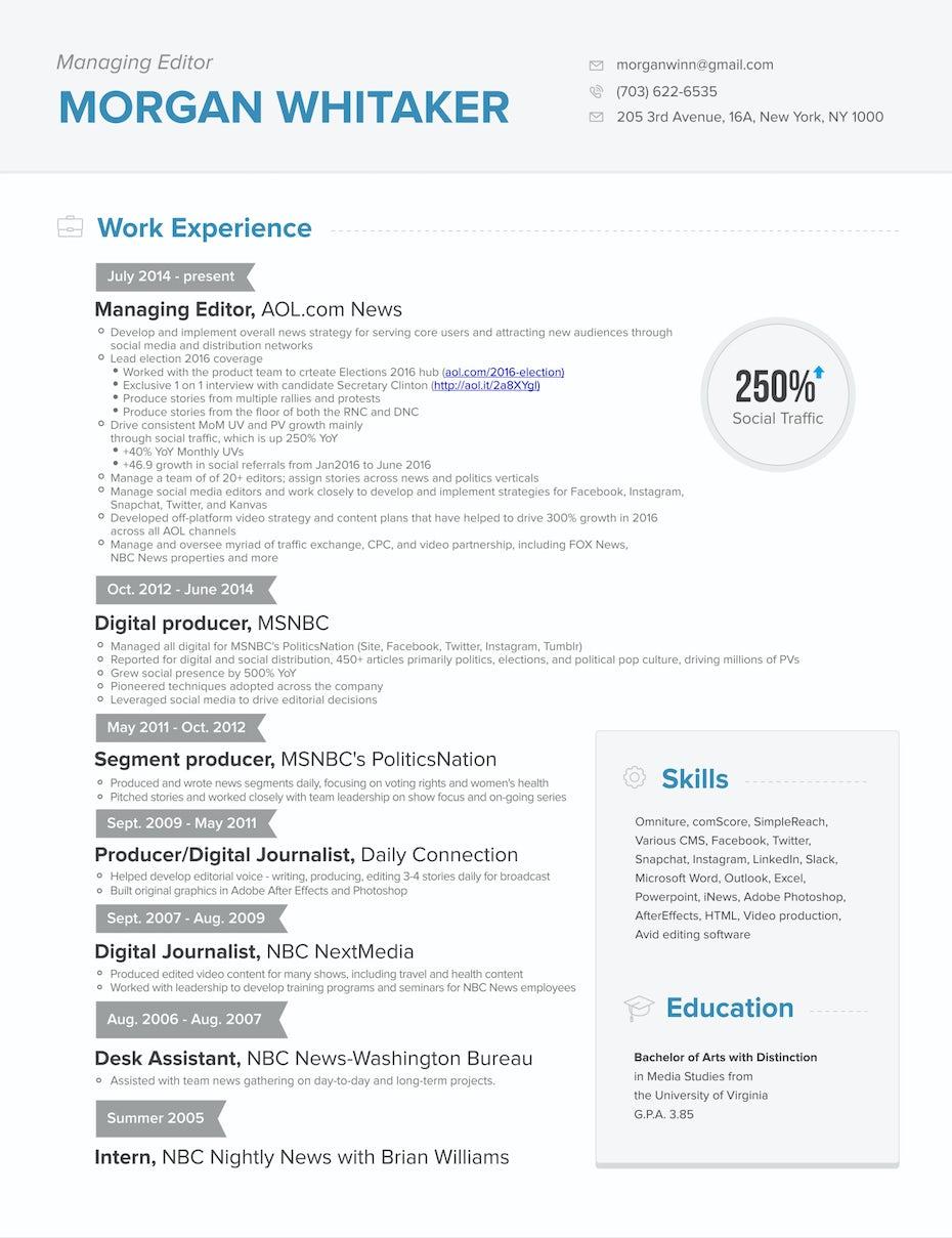 the 8 best resume builders 99designs blog