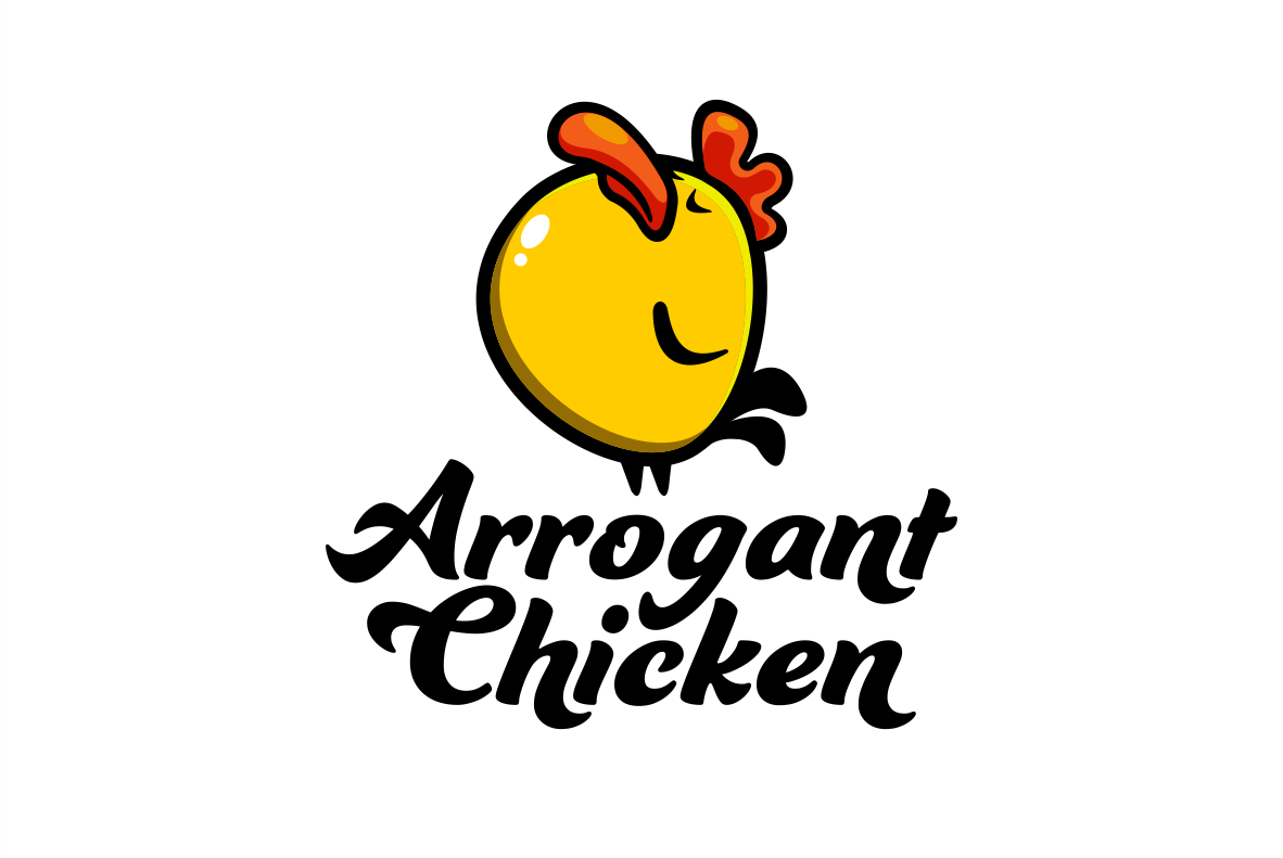 Cartoon chicken logo