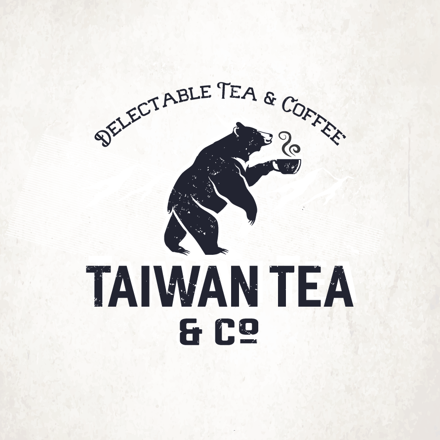 modern vintage hipster tea and coffee design