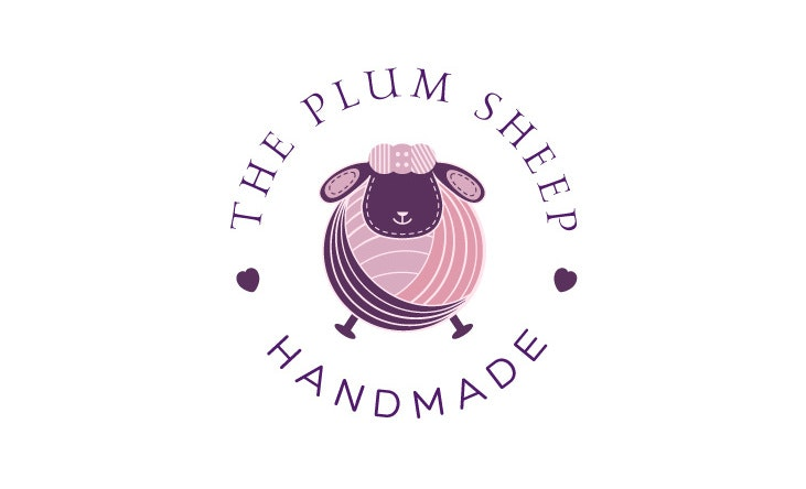 Plum sheep logo