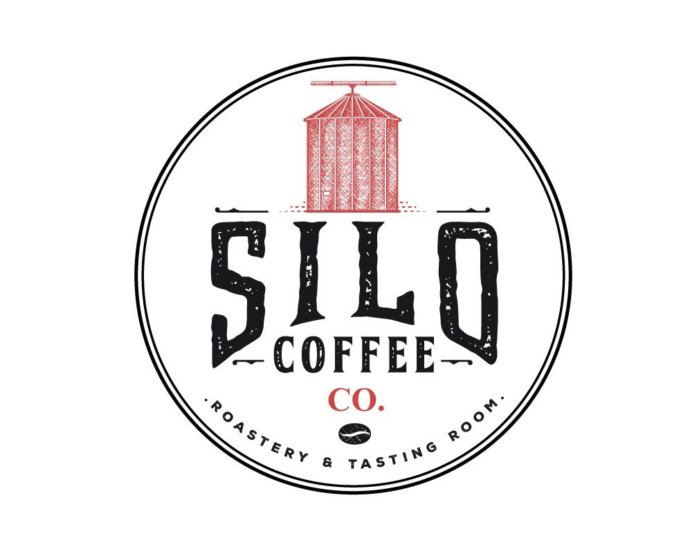 old silo coffee logo design