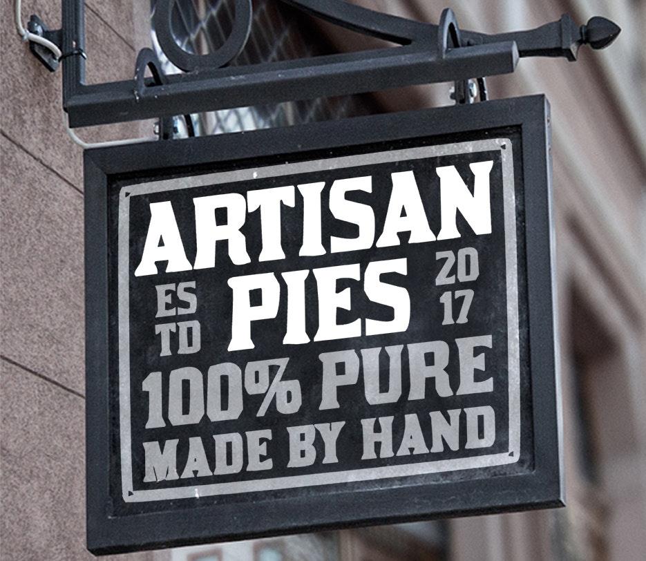 Artisan Pies text logo