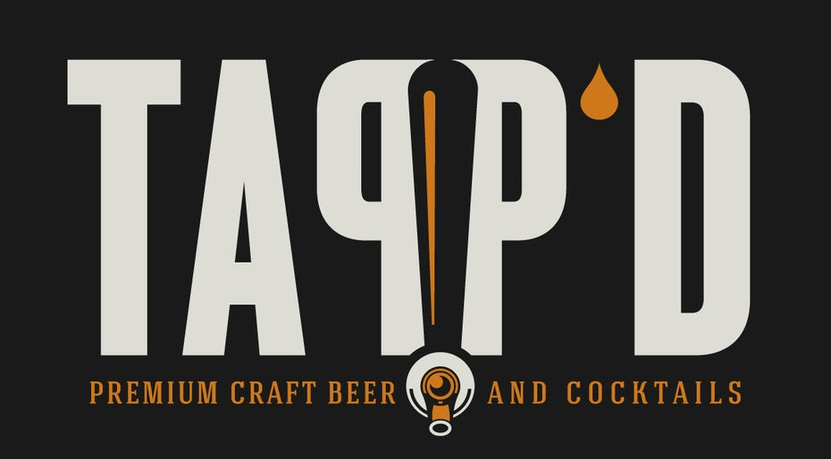 craft beer bar logo design