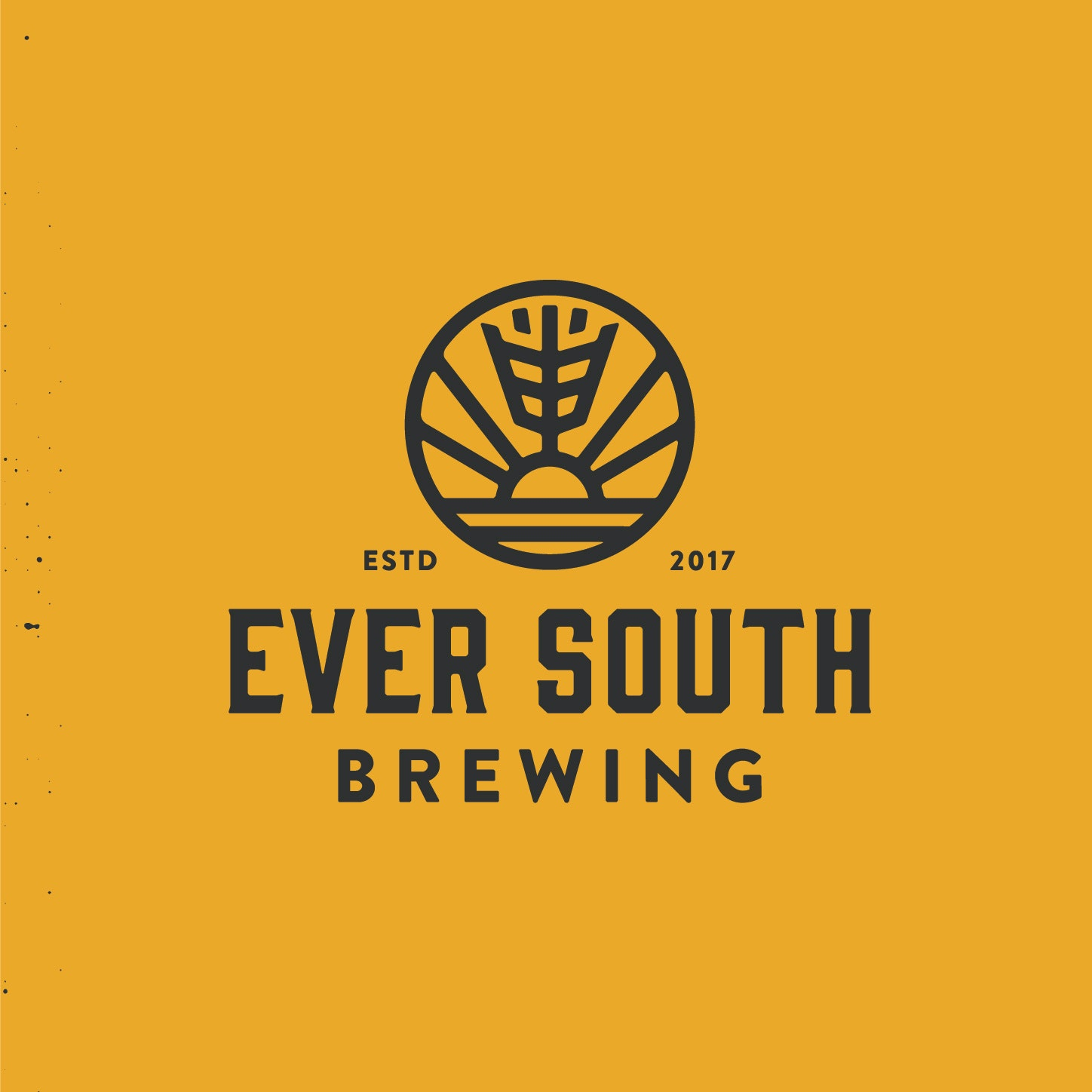 Ever South brewing logo design