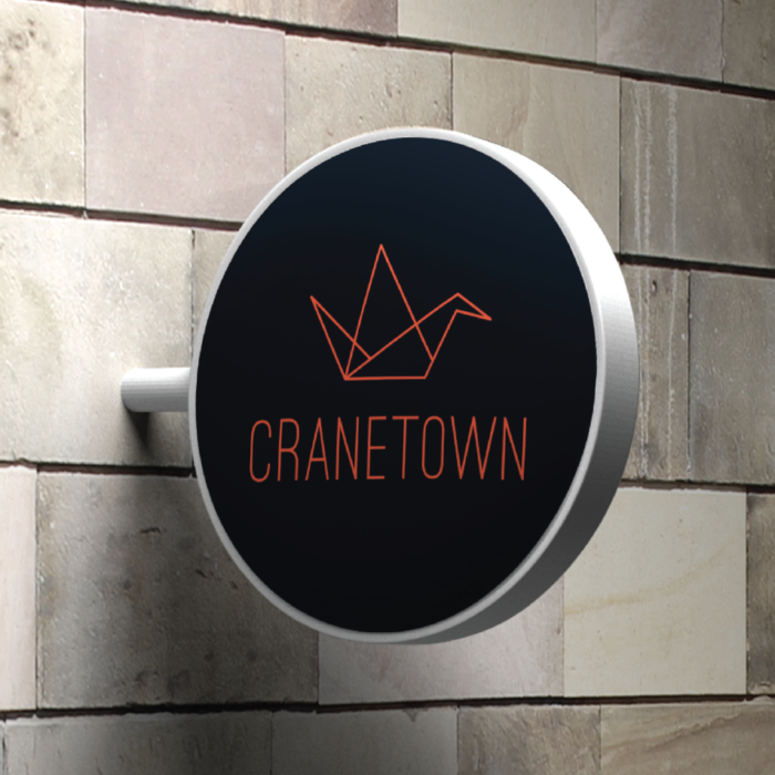 Einfaches Logodesign für Cranetown