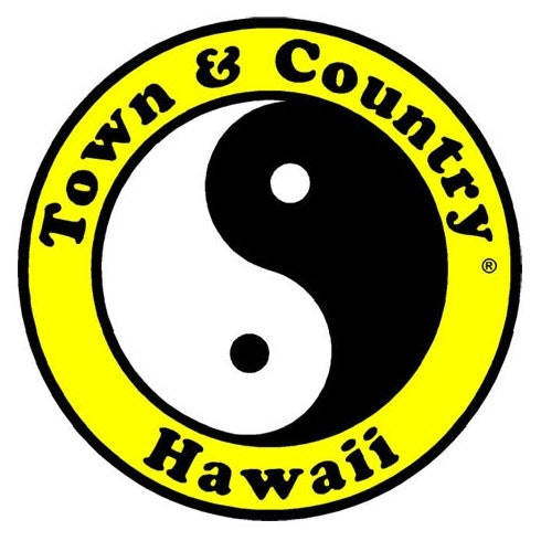 Town U0026 Country Surf Design Yin Yang Logo In Black And White.