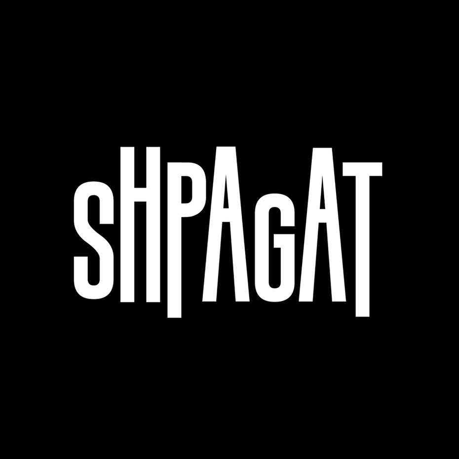 Logo for gay bar Shpagat