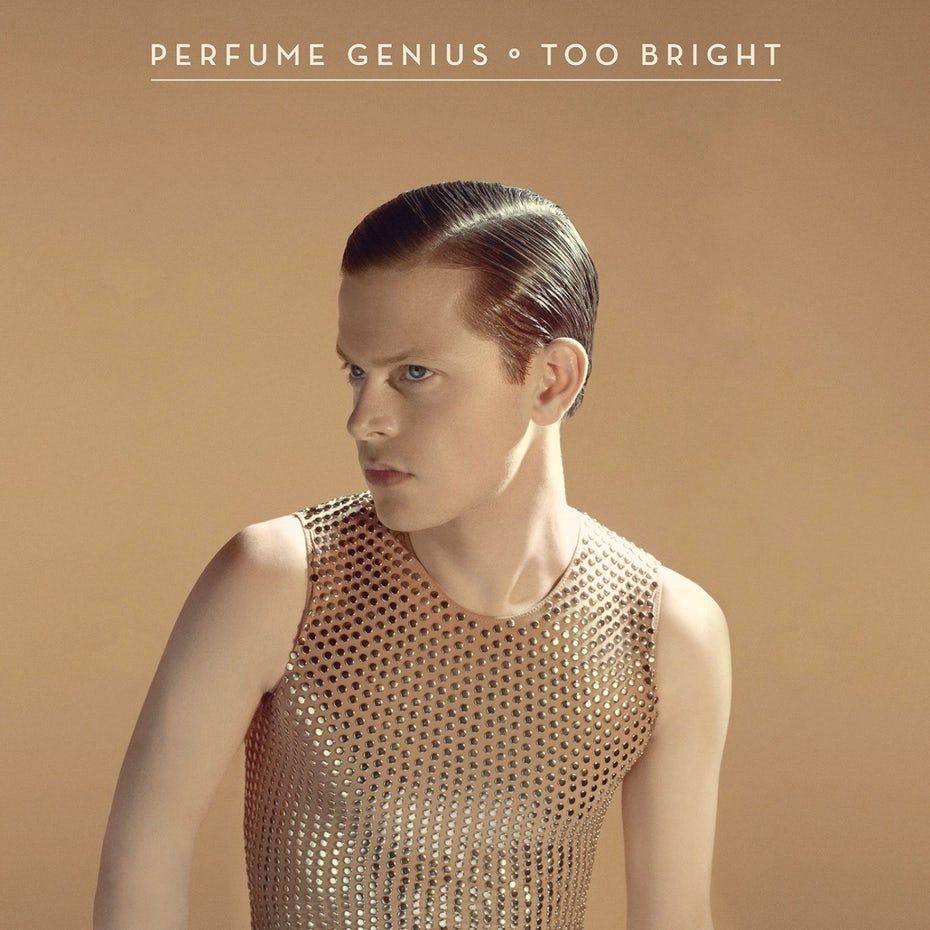 Album cover for Perfume Genius' Too Bright