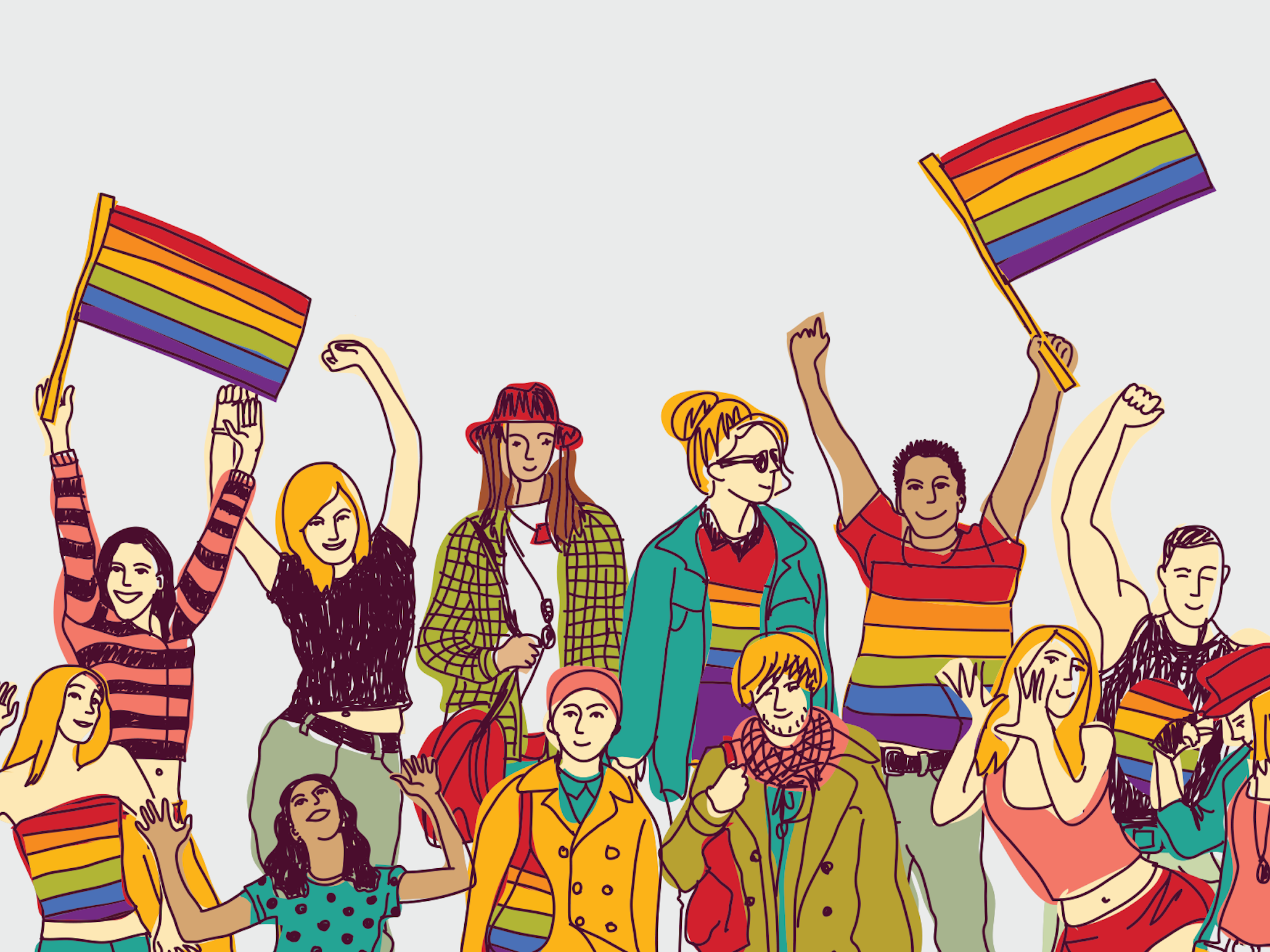 LGBT graphic design: the art of logo and print design from a queer  perspective - 99designs