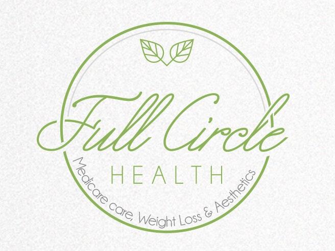 Circular health logo design