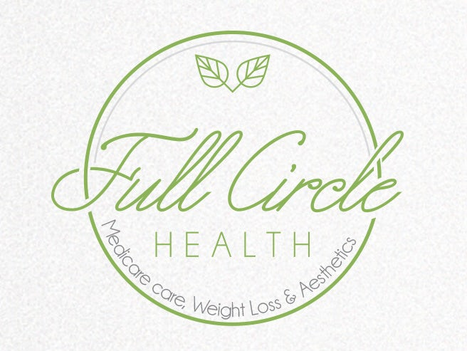 Circular health logo design