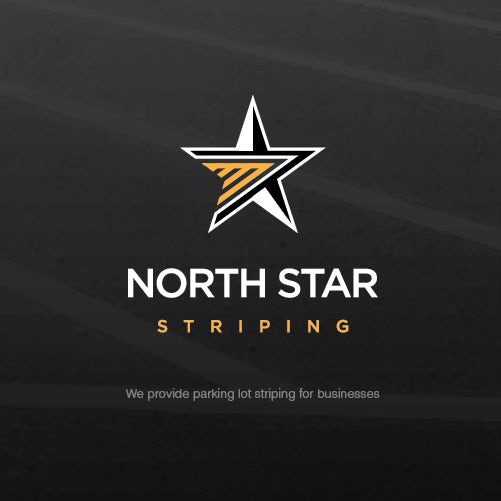 Five-pointed star logo design