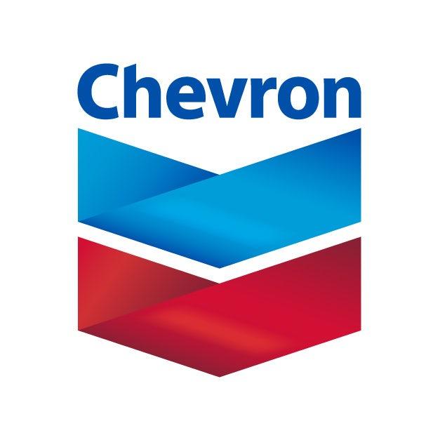 Chevron: new logo