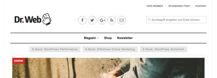 Dr. Web Online-Magazin