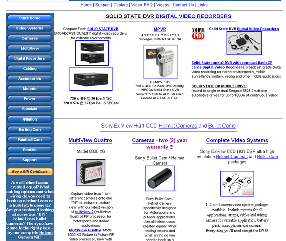 Outdated digital video manufacturing website