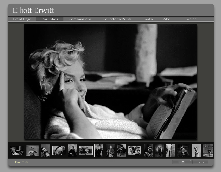 elliott erwitt photographer website