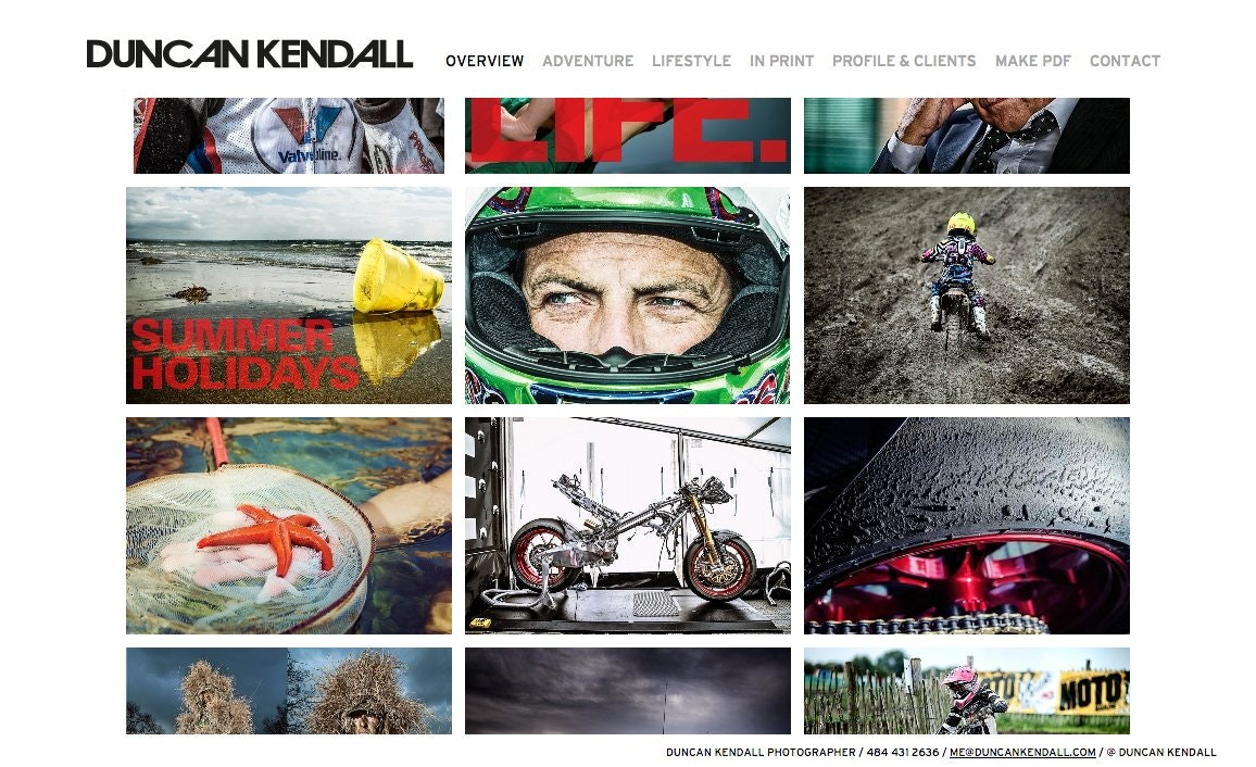 duncan kendall photographer website