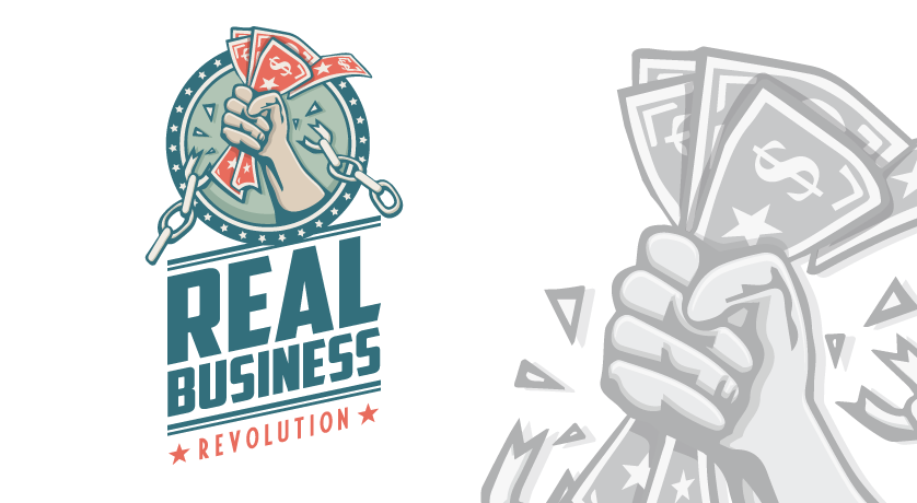 Real Business Revolution logo design